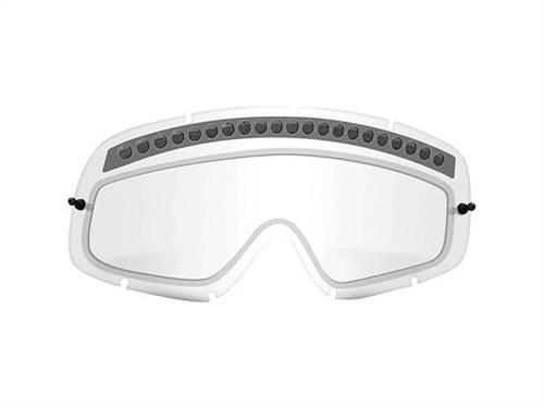 Écran double ventilé de rechange marque Oakley O Frame Lexan transparent
