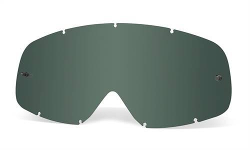 Écran de rechange marque Oakley XS O Frame Lexan Dark Grey
