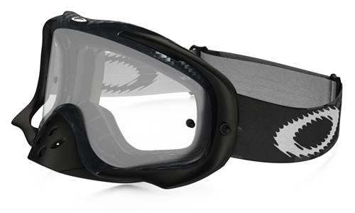 Masque marque Oakley Crowbar MX True Carbon Fiber écran transparent