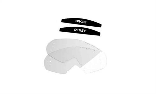 Écrans de rechange marque Oakley Mayhem roll-off transparent