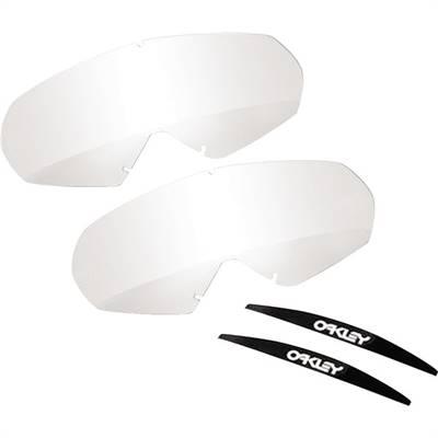 Écrans de rechange marque Oakley Mayhem Pro roll-off transparent