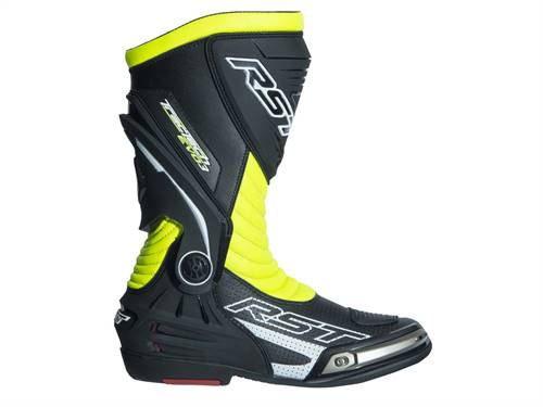 Bottes RST TracTech Evo 3 CE cuir jaune fluo