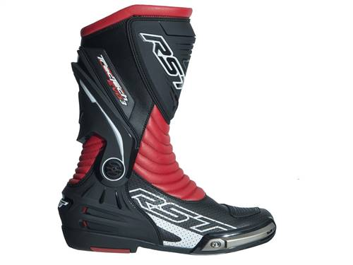 Bottes RST TracTech Evo 3 CE cuir rouge