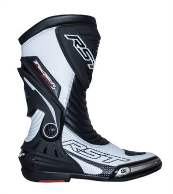 Bottes RST TracTech Evo 3 CE cuir blanc