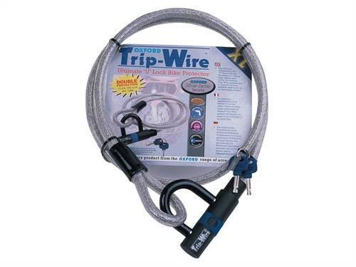 Antivol type câble Oxford XL Tripwire 1.8m x 15mm