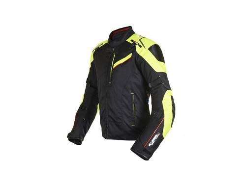 Veste OXFORD Estoril 2.0 noir/fluo homme