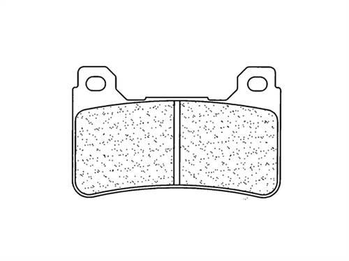 Plaquettes de frein CL Brakes métal fritté indice A3+