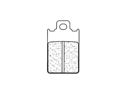 Plaquettes de frein CL Brakes métal fritté indice X59