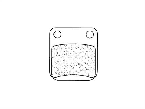 Plaquettes de frein CL Brakes métal fritté indice SC