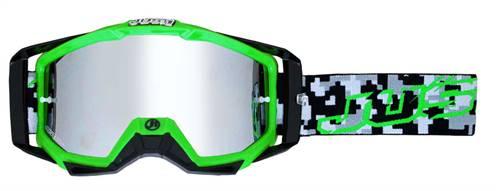 Masque marque Just1 Iris Hulk vert/noir