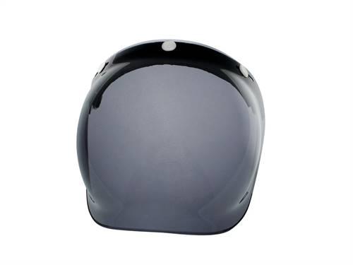Visière universelle V PARTS Bubble noire avec flip-up