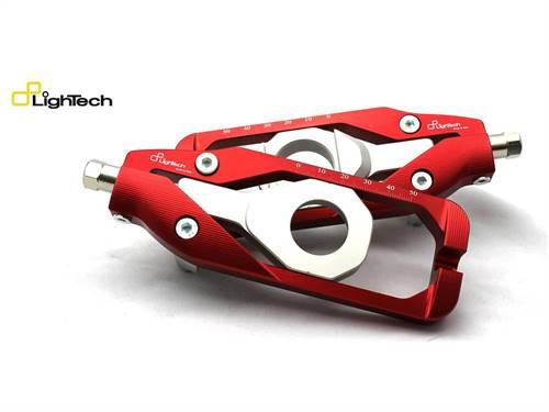 Tendeur de chaine marque Lightech rouge Yamaha R6 TEY608ROS
