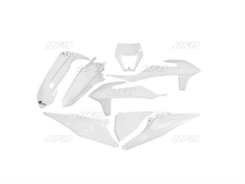 Kit plastiques UFO blanc