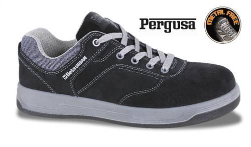 Chaussures basses en croûte de velours hydrofuge BETA