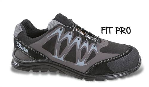 Chaussures basses en micro-croûte de velours BETA