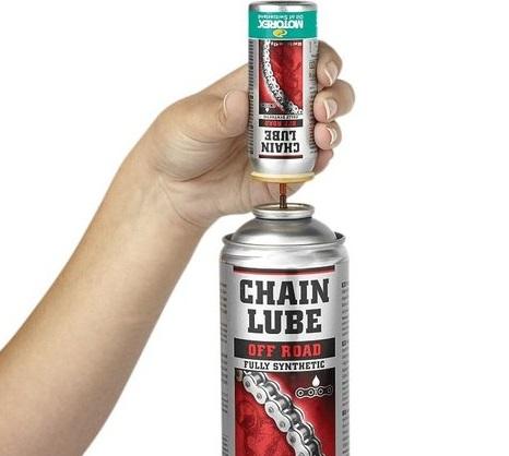 Lubrifiant chaîne marque Motorex Chain Lube Racing