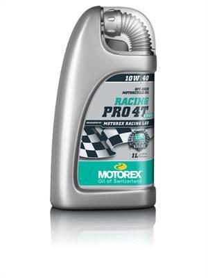 Huile moteur MOTOREX Racing PRO 4T 10W40 Minérale