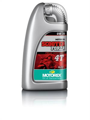 Huile moteur MOTOREX Scooter Forza 4T 0W30 semi-synthétique 1L