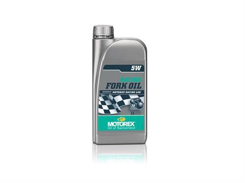Huile de fourche MOTOREX Racing 5W 1L