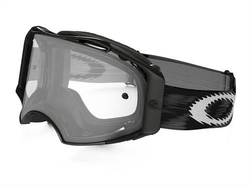 Masque marque Oakley Airbrake MX Jet noir Speed écran transparent