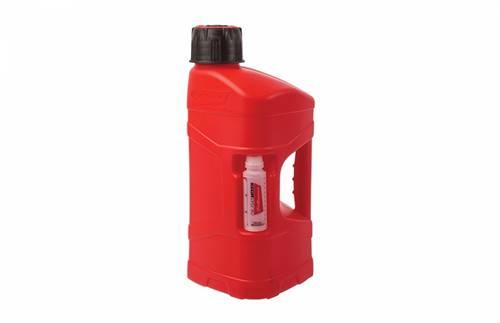 Bidon marque Polisport ProOctane remplissage rapide rouge