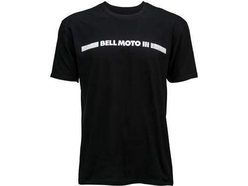 T-Shirt marque Bell Moto 3 noir