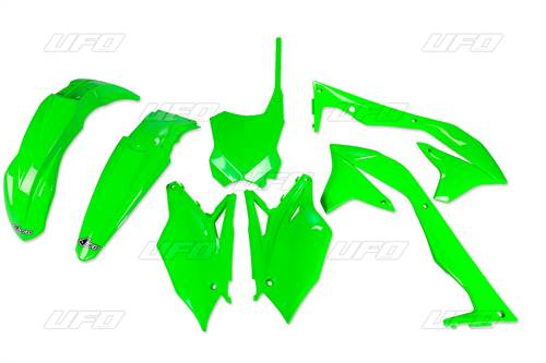 Kit plastique UFO vert fluo