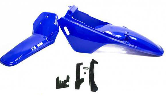 Kit plastique ART bleu Yamaha PW80
