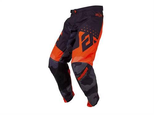 Pantalon ANSWER Elite Discord noir/orange