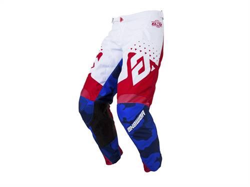 Pantalon ANSWER Elite Discord rouge/blanc