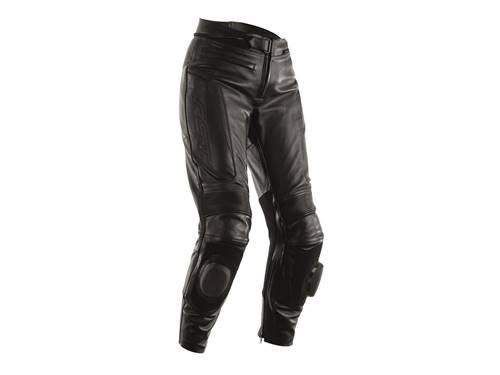 Pantalon femme RST GT CE cuir noir