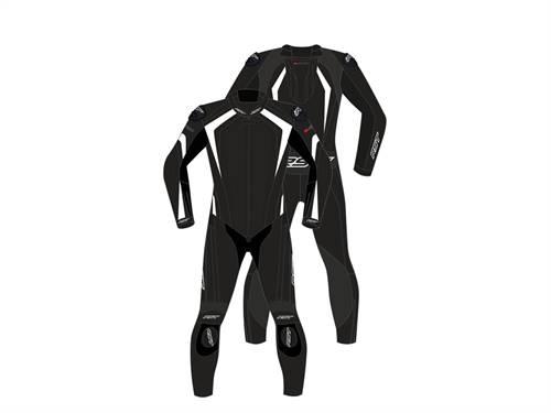 Combinaison RST R-Sport CE cuir blanc homme