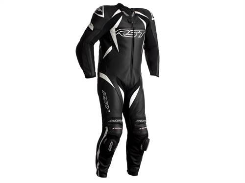 Combinaison RST Tractech EVO 4 CE cuir blanc/noir
