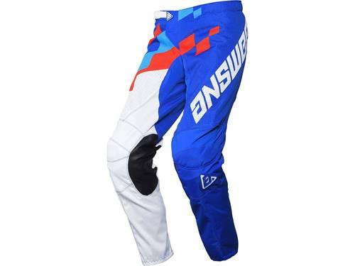 Pantalon ANSWER Arkon Korza Reflex/Hyper bleu/rouge