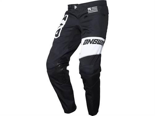 Pantalon ANSWER Arkon OPS noir/blanc