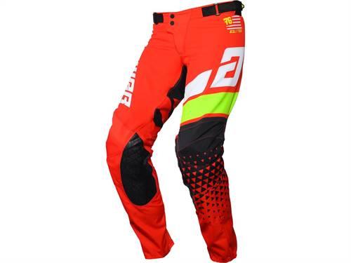 Pantalon ANSWER Elite Korza rouge/blanc/vert/noir