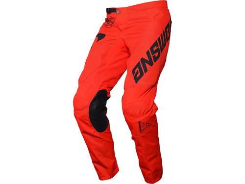 Pantalon ANSWER Arkon Bold rouge/noir