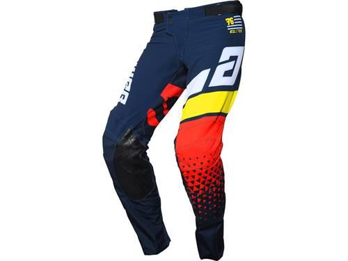 Pantalon ANSWER Elite Korza Midnight/blanc/jaune/rouge