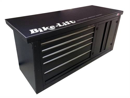 Meuble 2m marque Bike Lift 5 tiroirs/armoire