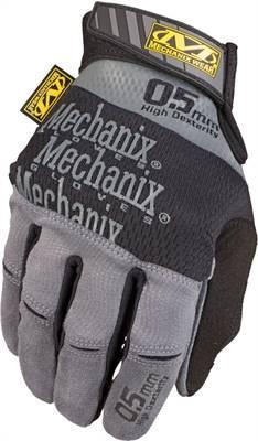 Gants MECHANIX Specialty 0.5mm High-Dexterity gris