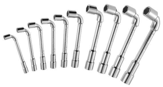 Jeu de 10 clés à pipe 8 à 19 mm EXpert