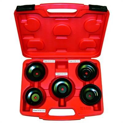 Coffret 5 cloches à filtre marque JMP 6 diamètres