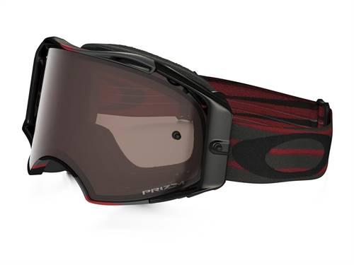 Masque marque Oakley Airbrake MX Nemesis Red/Gunmetal écran Prizm MX noir Iridium